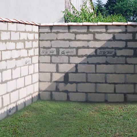 Mur de séparation mitoyenneté