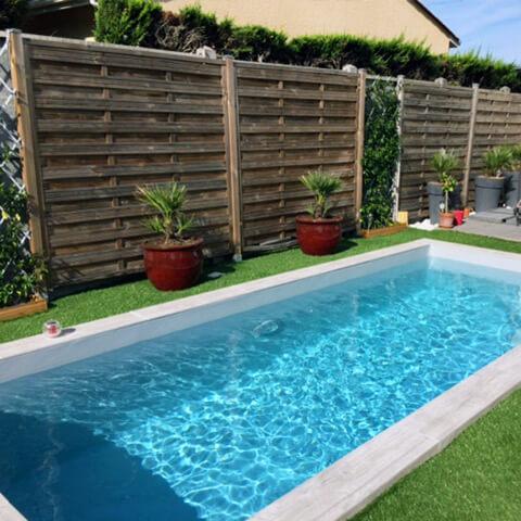 Étapes d'une réalisation de piscine enterrée